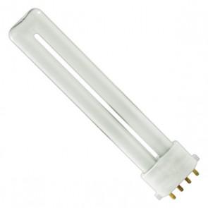 Osram 020174 CF9DS/E/840  9 Watt Compact Fluorescent Plug In, 4 Pin 2G7 Base, Cool White 840