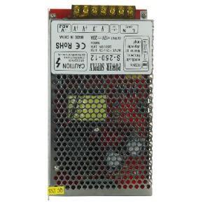 Sunlite 80915 BZL/S250/12V 250 Watt Bezel Lights Non-Water Proof LED Strip Driver