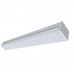 Sunlite 82095 LFX/BB213/4FT/40W/40K/EM LED 48-Inch Linear Light Fixture, Build in emergency backup, 40 Watts, 4800 Lumen, Dimmable, Indoor, Wall or Ceiling Mount, White Finish, 4000K Cool White 4 Feet