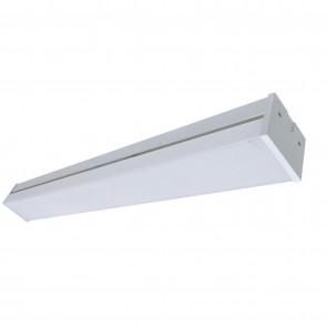 Sunlite 82091 LFX/BB213/2FT/25W/30K/EM LED 24-Inch Linear Light Fixture, Built-in Battery Backup, 25 Watts, 3000 Lumen, Dimmable, Indoor, Wall or Ceiling Mount, White Finish, 3000K Warm White 2 Feet