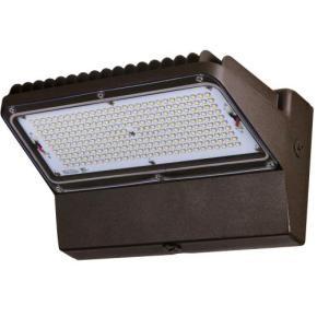 Sunlite 97058 LFX/WP/89W/50K 89 Watt Wall Packs LED Fixture, Bronze Finish, Polycarbonate Lens