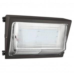 Sunlite 97090 LFX/WP/120W/MV/DLC/50K LED Wall Pack Light Fixture, 80 Watt (240W Equivalent), 10680 Lumen, 120-277 Volts, Dimmable, Outdoor Use, IP65, 5000K  Super White