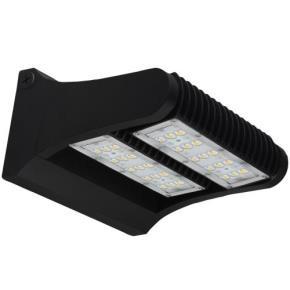 Sunlite 97088 LFX/RWP/60W/50K LED Rotatable Wall Pack Fixture, 5000K Super White, 7800 Lumen, 60 Watt, Black Finish