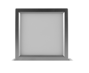 "Luxrite 23616 LED10/SLIM4/40K/N/SQ 10W Dimmable 4"" Square Slim Panel 4000K"