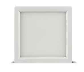 "Luxrite 23610 LED10/SLIM4/40K/W/SQ 10W Dimmable 4"" Square Slim Panel COOL WHITE 4000K"
