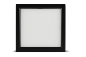 "Luxrite 23614 LED10/SLIM4/50K/B/SQ 10W Dimmable 4"" Square Slim Panel 5000K"