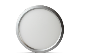 "Luxrite 23606 LED10/SLIM5/30K/N/RD 10W Dimmable 5"" Round Slim Panel SOFT WHITE 3000K"