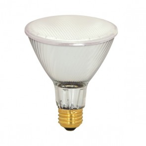 Satco S4210 39 watt Halogen PAR30 Frosted 2000 Average rated Hours 500 Lumens Medium base 130 volts