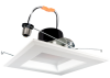 Goodlite 83453 R6/16W/SQ/LED/30k 6-Inch Square LED Retrofit  1300 Lumens, With Medium E26 Adapter, 3000K Warm White,