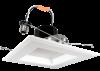 Goodlite 83455 R6/16W/SQ/LED/50k 6-Inch Square LED Retrofit,1300 Lumens, With Medium E26 Adapter, 5000K Super White