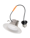 Goodlite 83447 R4/10W/R/LED/30k  LED Retrofit 4-Inch Round Downlight, Dimmble, Medium E26 Base, 3000K Warm White