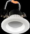 "Goodlite 19955 R3.5/9W/R/LED/30k LED 3"" Round Retrofit, Option of GU10 Base Adapter, Dimmble, 3000K Warm White"