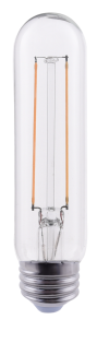 Goodlite 19752 T10/4.5/LED/D/50K 4.5-Watt T10 Filament LED, 60-Watt Equivalent, Dimmable, Medium E26 Base, 5000K Super White