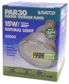 Satco S7206    15PAR30/50     15 watt PAR30 Compact Fluorescent 5000K 82 CRI Medium base 120 volts