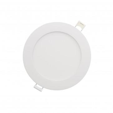 Luxrite 23755 LED/MINI4/PANEL/5CCT/RD 10 Watt LED Recessed Mount Mini Round Light,CCT Select 2700K,3000K,3500K,4000K,5000K
