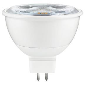 Sunlite 80886 MR16/LED/7W/12V/FL40/D/E/30K 7 Watt 12 Volts MR16 Mini Quartz Reflector IP20 Spotlight LED Light Bulbs, GU5.3 Base, Warm White