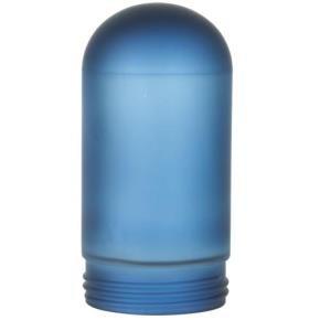 Sunlite 88150 RPG/LFX/VT/100/B Blue Frosted VT100\VTA100 Vaporproof Replacement Weather Tight Fixture Glass Globe Bulb
