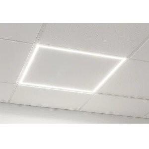 Greenbeam GB-TBAR02-2X2  2 X 2 LED Ceiling Grid  Frame Light Edge Lit 3500K Soft White