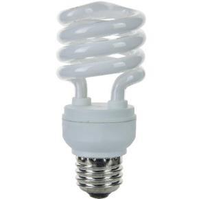 SUNLITE 00612 SMS13/27K/E/CD1 13 Watt Super Mini Spiral   Medium (E26) Base, Warm White