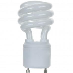 Sunlite 00787 SL13/GU24/41K 13 Watt GU24 Sprial Energy Saving Light Bulb, GU24 Base, Cool White