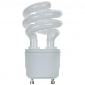 Sunlite 00789 SL13/GU24/50K 13 Watt GU24 Sprial Energy Saving Light Bulb, GU24 Base, Super White
