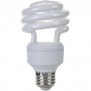 Sunlite 00811 SMS18/E/27K 18 Watt Super Mini Spiral Energy Saving Light Bulb, Medium Base, Warm White
