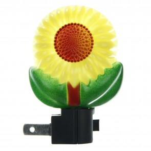 Sunlite 04022 E157 Yellow Sunflower Decorative Night Light