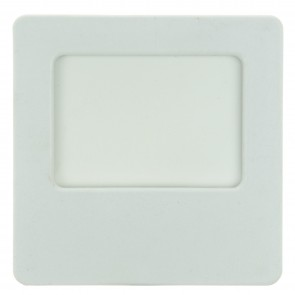 Sunlite 04039 E162 White Square Neon Glow Night Light