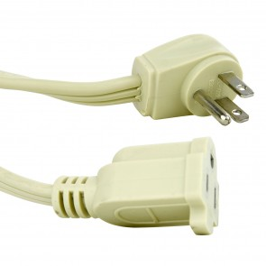 Sunlite 04145 EX3/AP  Appliance Extension Cord 3-Feet Beige