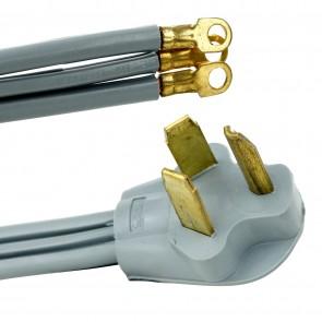 Sunlite 04173 EX4/D  Dryer Extension Cord 4-Feet, Grey