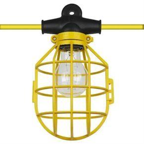 Sunlite 04226 EX100-14/2/SL  Cage String Light Plastic