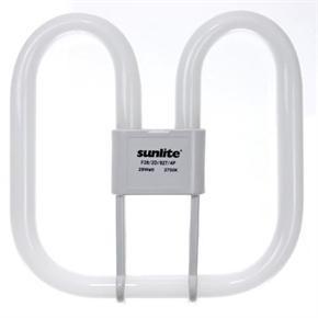 Sunlite 05730 F21/2D/827/4P 21 Watt 2D Lamp, GR10Q Base, Warm White