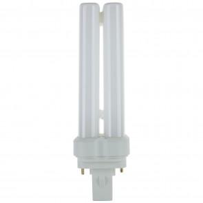 Sunlite 05755 FDL22/50K 22 Watt FDL 2-Pin Quad Tube GX32D-2 Base Plugin Light Bulb, Super White