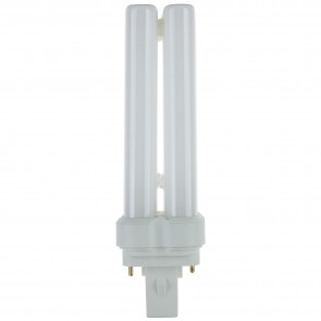 Sunlite 05765 FDL28/50K 28 Watt FDL 2-Pin Quad Tube GX32D-2 Base Plugin Light Bulb, Super White