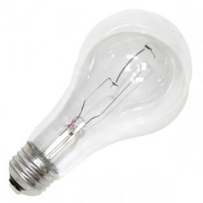 Sylvania 15476  200A21/CL/RP-120V 200 Watt 120 Volt A21 Incandescent, Medium (E26) Base, Warm White 2850K