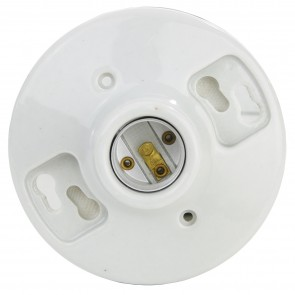 Sunlite 20110 E197 Porcelain Lamp Holder With Wire Leads
