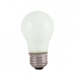 Bulbrite 104025 25A15F 25 Watt Incandescent A15 Fan Bulb, Medium Base, Frost