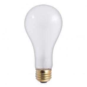 Bulbrite 100201 200A/HL 200 Watt High Lumen Incandescent A23, Medium Base, Frost