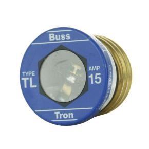 Sunlite 37220 TL15/4PK 15 AMP Edison Base Plug Fuse 4 Pack Cooper