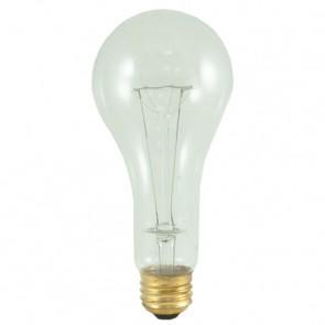 Bulbrite 101201 200A/CL/HL 200 Watt High Lumen Incandescent A23, Medium Base, Clear