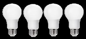 Goodlite 19805 A19/9/LED/4B/41K LED A19 60 Equivalent 4100K Cool White 900 Lumens 4-Pack
