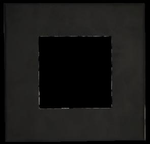 Goodlite 48388 T4/SQ/COVER/BLACK Square Slim Shape ,Black Finish,4 Inch  Trim Replacement