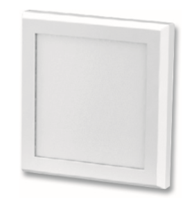 LightBlueUsa LB76251 10 Watts 4 inch Surface Mount LED Square Flat Panel Light,Neutral White 3500K