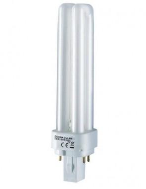 Osram 12124 CF10DD/E/827  10 Watt Compact Fluorescent Plug In, 4pin G24q-1 Base, 827