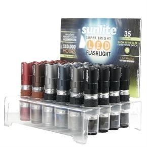 Sunlite 51006 ELE/FL/SM/ST  LED Super Bright Flashlight, 24 Pack