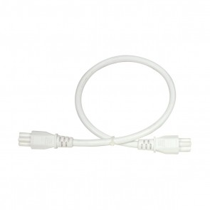 """Satco 65-1112 16"""" MALE/MALE JOINER , 16""""- Male-Male Joiner for LED connectable strip light fixtures"""