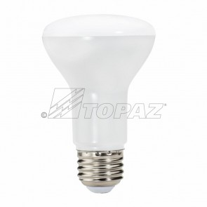 Topaz 73428 LR20/6/850/D-46 6.5 Watts E26 Base R20 Shape     LED Indoor Reflectors  5000K Bright White