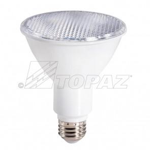 Topaz 73724 LP30L/11/50K/FL/D-46 11 Watts E26 Base Par30 Shape    Long Neck LED  Lamp 5000K Bright White