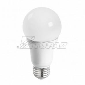 Topaz 77011 LA19/9/50K/D-46 9.5 Watts E26 Base A19 Shape Omni-Directional Lamps LED Bulb 5000K Bright White