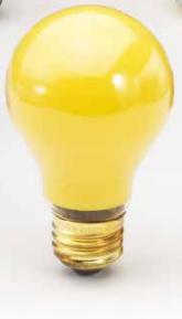 Topaz 77870 25A/BUG 25 Watts A19 Shape E26 Base     Bug Light  Incandescent Lamps